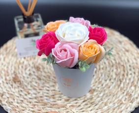 Muilo Gėlių kompozicijos Gėlės pagamintos iš muilo / Muilo Gėlės / Darbų pavyzdys ID 705271