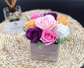 Muilo Gėlių kompozicijos Gėlės pagamintos iš muilo / Muilo Gėlės / Darbų pavyzdys ID 705285