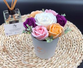 Muilo Gėlių kompozicijos Gėlės pagamintos iš muilo / Muilo Gėlės / Darbų pavyzdys ID 705291