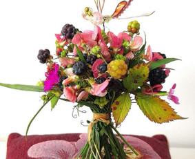 Floristė, floristikos mokytoja Vilniuje