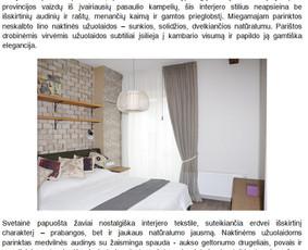 Reklaminiai tekstai Straipsniai Aprašymai (LT/ENG) / Irena J. / Darbų pavyzdys ID 709197