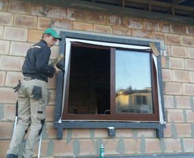Plastiko, Aliuminio, Medžio profilio langai,durys,pertvaros / UAB JUSTIGNA / Darbų pavyzdys ID 709913