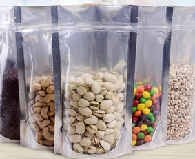 Ilgai negendančių maisto produktų pakavimas, pakuočių gamba