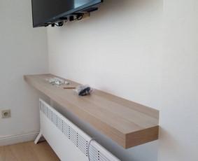 Ikea lentynos pritaikymas ir sumontavimas į nišą