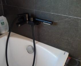 Vonios vandens čiaupo keitimo darbai.