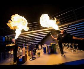 Barmen For You - mobilus baras, baro šou, šampano piramidė