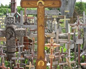 Padėkos kryžius kryžių kalne.