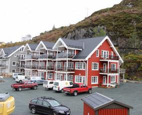 18 kambarių viešbutis. Norvegija