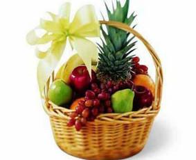Dovana Nr.103 - Gamtos dovanos Simpatiškas vaisių krepšelis - netikėta ir gera dovana Jūsų draugams.