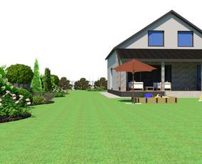 Aplinkos apželdinimo projektavimas / Rolanda / Darbų pavyzdys ID 713547