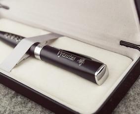 Graviruotas pieštukas su tekstu tik 0,60 eur/vnt!