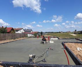 Pamatų, betoninių grindų įrengimas