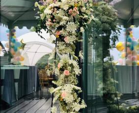 Balta Karūna - vestuvių floristika,dekoravimas,koordinavimas / Balta Karūna / Darbų pavyzdys ID 715947