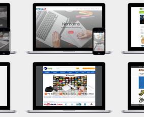 Interneto svetainės, el.parduotuvės, klientų savitarnos sistemos