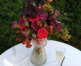 Balta Karūna - vestuvių floristika,dekoravimas,koordinavimas / Balta Karūna / Darbų pavyzdys ID 719041