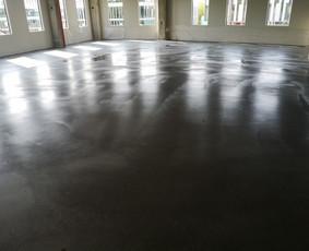 Pramoninių grindų betonavimas, Smėlbetonio grindys