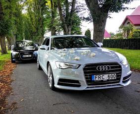 Automobilių nuoma su vairuotoju.