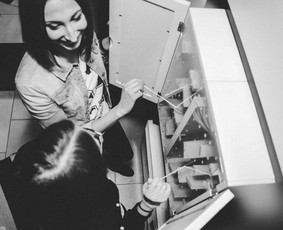 CSI: juoda/balta pabėgimo kambarys