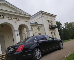 Prabangių automobilių nuoma Kaune, Vilniuje, Klaipėdoje... / Arnoldo transportas ir taksi, MB / Darbų pavyzdys ID 729933