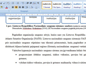Konsultavimas rengiant rašto darbus / Gerda / Darbų pavyzdys ID 731165