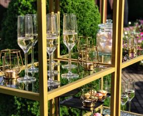 Išskirtinis šampano pateikimas jūsų šventei