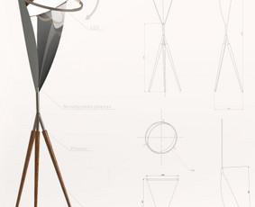 3D modeliavimas, vizualizacijų kūrimas, 3D spausdinima (PLA)