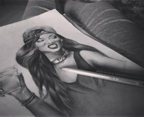 Portretai pieštuku iš nuotraukų