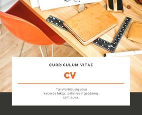 CV rašymas lietuvių, anglų ir norvegų kalbomis