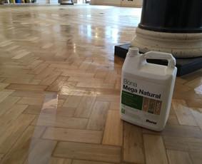 Parketo ir kitų medinių grindų įrengimas bei atnaujinimas