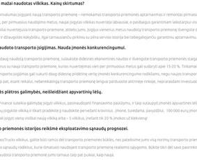 Craftmark Studio - tekstai rinkodarai, pardavimams Lt / En / Neringa Klevaitė-Vežbickienė / Darbų pavyzdys ID 739613