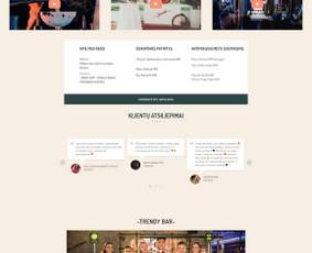 Internetinių svetainių ir el. parduotuvių kūrimas / Marius Zienius / Darbų pavyzdys ID 744385