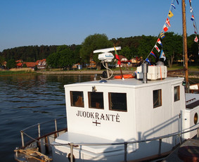 Laivo nuoma, iškylos laive, pramoginė žuklė