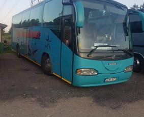 Keleivinių autobusų ir mikroautobusų nuoma