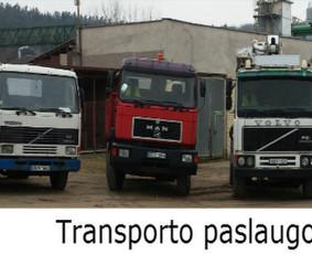 Statybinių krovinių vežimas. Betonas, žvyras ir kt