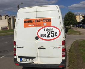 Krovininių, keleivinių mikroautobusų nuoma, vežam krovinius