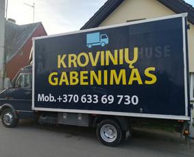 Kroviniu gabenimas perkraustymo paslaugos