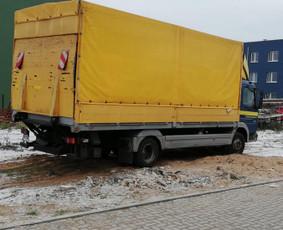 Kroviniu pervezimas visoje Lietuvoje