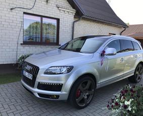 Prabangiu Audi nuoma vestuvems ir kitoms sventems!