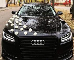 Audi A8, A8l, S8, Q7 nuoma vestuvems