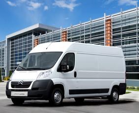 Krovininių mikroautobusų nuoma, užtenka B kat.
