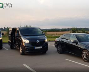 Mikroautobusų nuoma su/ be vairuotojo