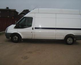 Ford Transit 3,5 T,b,k krovininis mikroautobusas