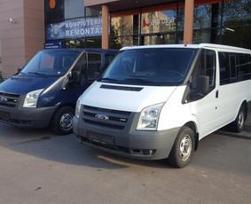Mikroautobusų nuoma su vairuotoju ir be vairuotojo