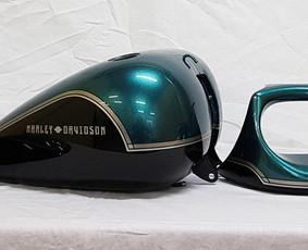 Motociklų Dažymas-paruošimas
