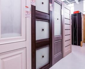 Vidaus, kambario durys, montavimas, įrengimas