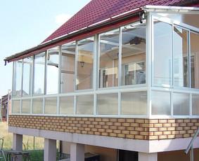 Langai, Balkonu, Terasų stiklinimas,