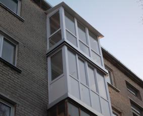 Langu remontas Balkonu stiklinimas Klaipeda ir kt
