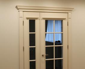 Durų gamyba,uosio, ąžuolo masyvo durys.