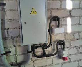 Elektros darbai Rangovo Aktas Esso