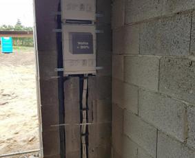 Elektros instaliacijos montavimo darbai